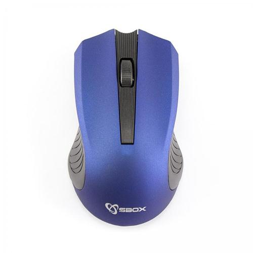 Sbox Mouse Ottico 3D Wireless WM-373 Blu